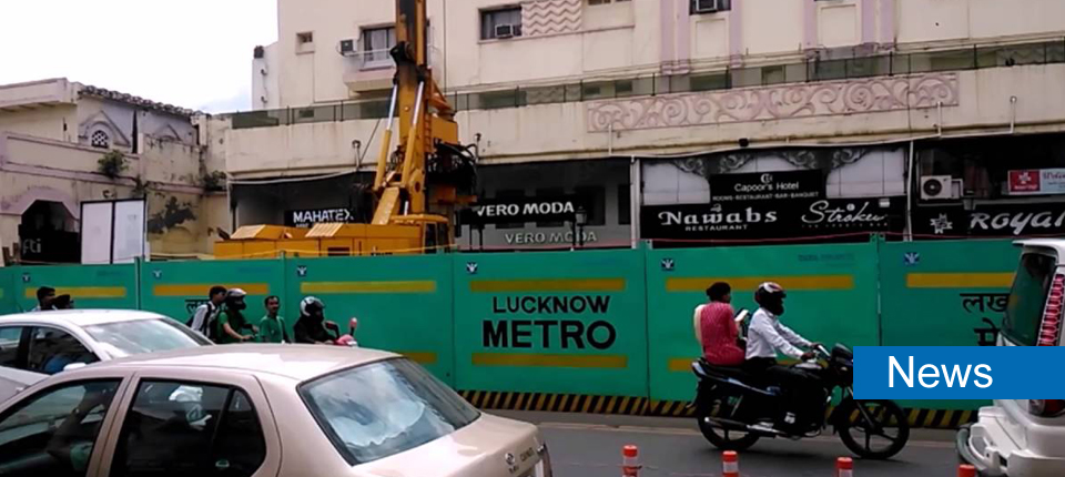 First Stretch Of Tunnelling For Lucknow Metro Completed